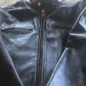 Other - Vintage leather jacket. Made in the 1960's.  Sz 48